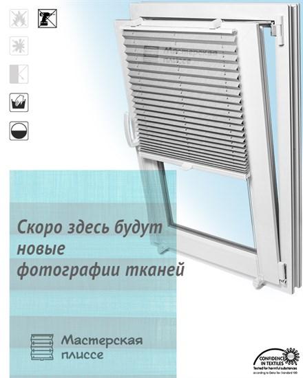 штора плиссе КРЕП ТОПАР на пластиковые окна - фото 5631