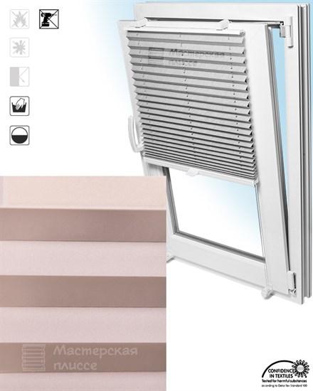 штора плиссе АИДА на пластиковые окна - фото 5698