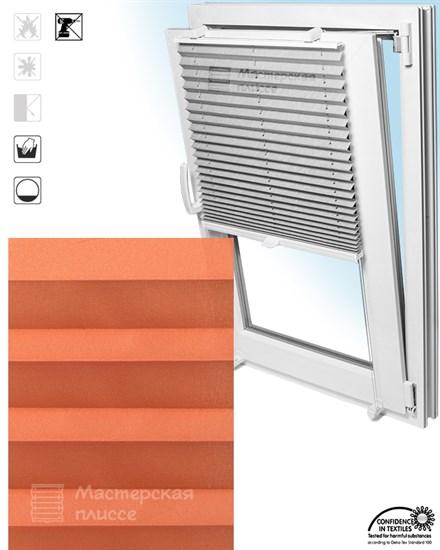 штора плиссе АСКОНА на пластиковые окна - фото 5714