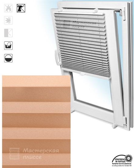 штора плиссе БАЗЕЛЬ на пластиковые окна - фото 5959