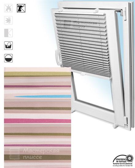 штора плиссе ВАСТО на пластиковые окна - фото 5972