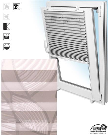 штора плиссе ВИНЧИ на пластиковые окна - фото 5975