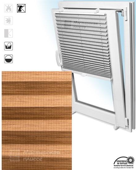 штора плиссе ГАРДА на пластиковые окна - фото 5977