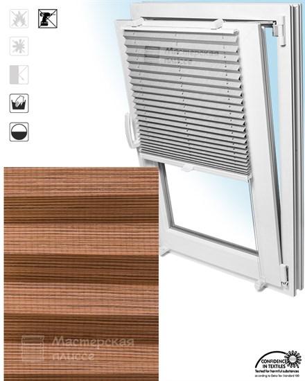 штора плиссе ГАРДА на пластиковые окна - фото 5980
