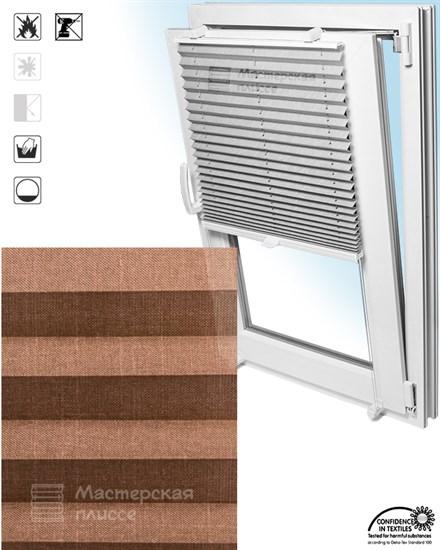 штора плиссе КОРСИКА на пластиковые окна - фото 6139