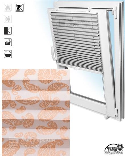 штора плиссе МОНТЕЛЛА на пластиковые окна - фото 6214