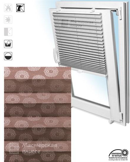 штора плиссе НОВЕЛЛА на пластиковые окна - фото 6228