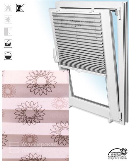 штора плиссе ТОГО САН на пластиковые окна - фото 6266