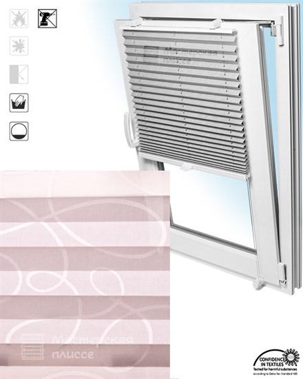 штора плиссе ТИВАЛИ на пластиковые окна - фото 6316