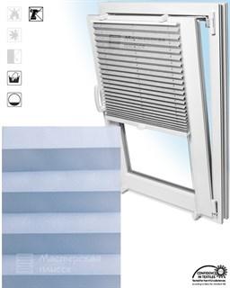 штора плиссе АСКОНА на пластиковые окна