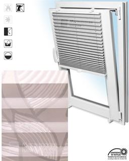 штора плиссе ВИНЧИ на пластиковые окна